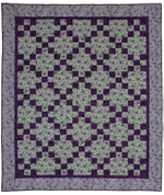 Chains of Purple Quilt