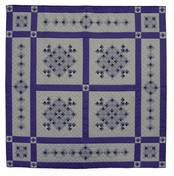 Claudia Embroidered Quilt
